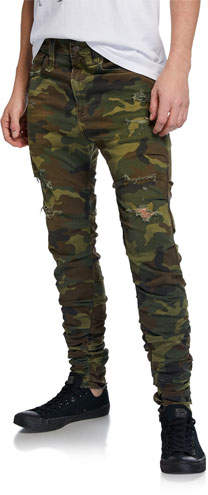 newest style women new collection Skinny Camo Pants Men - ShopStyle