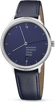 Mondaine Helvetica No. 1 Light Bleu Marine Watch, 38mm