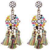 BaubleBar Rainbow Tassel Drop Earrings