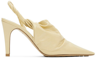 Bottega Veneta Beige Point Mules