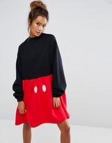 Lazy Oaf X Disney Mickey Mouse Sweater Dress