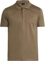 Lanvin Deconstructed cotton-piqué polo shirt