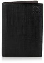Loewe Textured leather passport holder