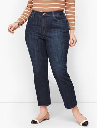 Talbots Modern Ankle Jean - Curvy Fit - Genuine Dark Wash