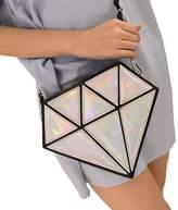 TOP SHOP BAG Top Shop Womens Diamond Plaid Leather Shoulder Handbags Cross-body Messenger Bags Hobos Clutches