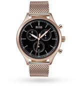 Hugo Boss Milanese Strap Companion Watch