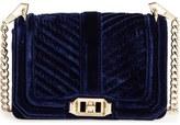 Rebecca Minkoff Small Love Quilted Velvet Crossbody Bag