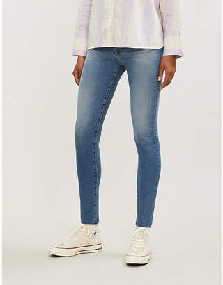 AG Jeans Ladies Blue Farrah Skinny High Rise Jeans