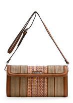 MANGO Tribal messenger handbag