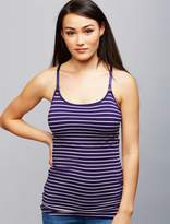 A Pea in the Pod Luxe Clip Down Nursing Cami- Stripe
