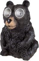 Pier 1 Imports LED Light-Up Black Bear Solar Powered Garden Statue