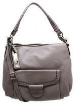 "Plinio Visona 12512"" Grey Leather Hobo Bag"