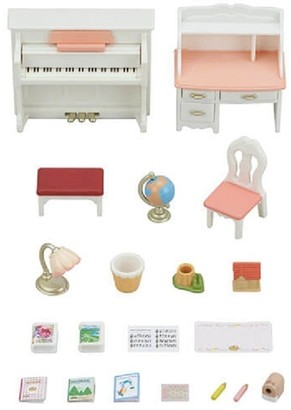 Calico Critters Home Furniture Playset Piano and Desk