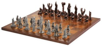 Royal Selangor War of the Rings Chess Set