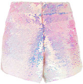 Manish Arora ombré sequinned shorts - women - Polyester - 34