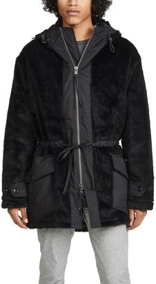 MONITALY Kodiac Faux Fur Jacket