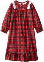 Komar Kids Little Girls' Traditional Holiday Plaid Nightgown
