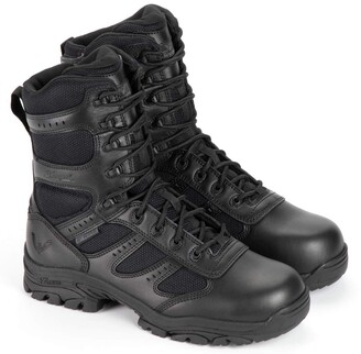 "Thorogood 804-6191 Men's Deuce Series 8"" Waterproof Side-Zip Composite Safety Toe Tactical Boot"
