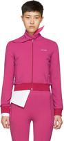 Balenciaga Pink Scarf Jogger Track Jacket
