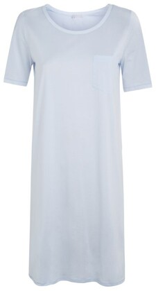Hanro Cotton Deluxe Short Sleeve Nightdress