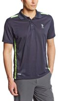 U.S. Polo Assn. Men's Color-Block Performance Polo Shirt