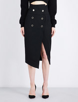 Alexandre Vauthier Double-breasted wool midi skirt