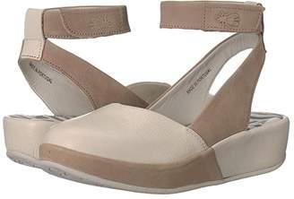 Fly London BOKE987FLY (Off-White/Cloud Mousse/Cupido) Women's Sandals