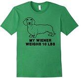 Ripple Junction Men's My Wiener Weighs 10 LBS 2XL