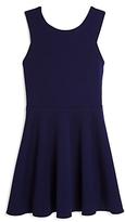 Aqua Girls' Back Cutout Dress, Big Kid - 100% Exclusive