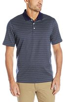 Cutter & Buck Men's Short Sleeve Ulysses Mercerized Jacquard Polo