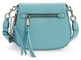 Marc Jacobs Small Recruit Nomad Pebbled Leather Crossbody Bag - Blue