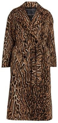 Marina Rinaldi Leopard Trench Coat