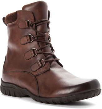 Propet Women's Lace Up Leather Boots - DelaneyTall
