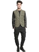 Neil Barrett Vintage Linen/Cotton Cargo Trousers