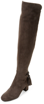 LK Bennett Camille Suede Over The Knee Boot