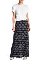 Angie Printed Maxi Skirt