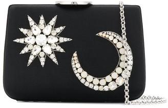Giambattista Valli Crystal Embellished Clutch Bag