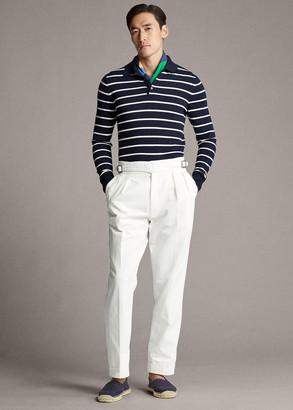 Ralph Lauren Buckled Chino Suit Trouser