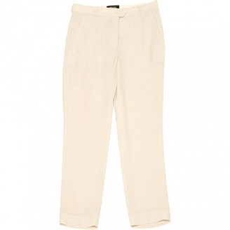 Isabel Marant Beige Cloth Trousers for Women