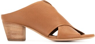 Officine Creative Adele crossover-panel mules