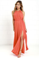 LuLu*s Gleam and Glide Sage Green Maxi Dress