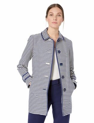 Anne Klein Women's Collared Button Front Coat
