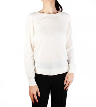 MICHAEL Michael Kors Solid Button Back Sweater