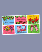 Tropical Series Labels, Set of 75