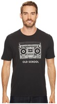 Life is Good Old School Boombox Smooth Tee Men's Short Sleeve Pullover