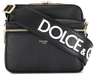 Dolce & Gabbana Logo Stamp Messenger Bag