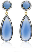 6th Borough Boutique Chalcedony Tina Earrings