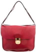 Marni 2016 Red Leather Shoulder Bag