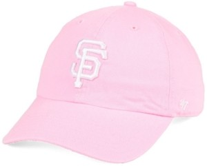 '47 San Francisco Giants Pink Clean Up Strapback Cap