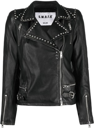 S.W.O.R.D 6.6.44 Studded Leather Jacket